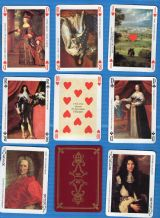 "Collectible playing cards ""Les Grands Rois de France,"" ( French Kings )"
